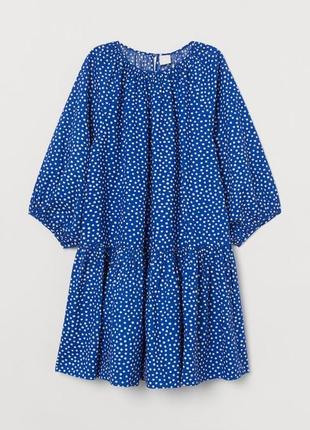 Платье в горох h&m