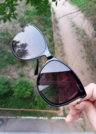 Стильные качественные квадратные изящные очки минимализм 3 категория защиты из 4 существующих
