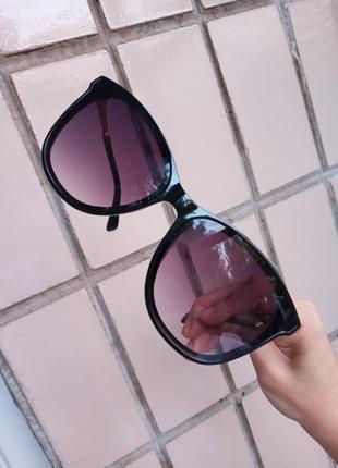Стильные качественные квадратные изящные очки минимализм 3 категория защиты из 4 существующих3 фото
