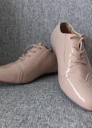 Туфли лаковые женские кожаные р. 37 38 39