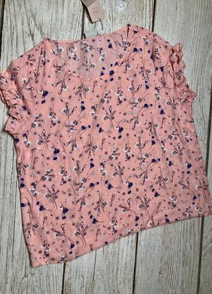 Свободная легкая блуза германия4 фото