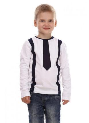 Кофта с галстуком и подтяжками