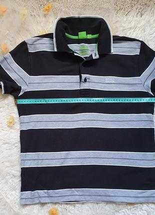 Классная футболка с новых коллекций поло hugo boss! размер l!