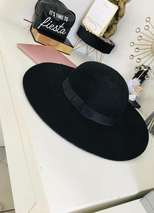 Шикарная широкополая шляпа из натуральной валяной шерсти 1+1=3 на всё 🎁