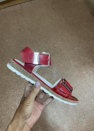 Босоножки сандалии р.37 кожа