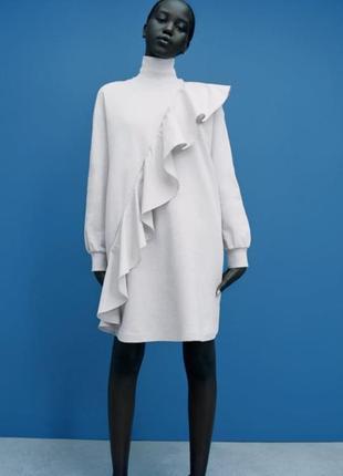 Белое платье от zara