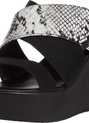 Босоножки шлепанцы сандалии платформа charles david размер us8,5 eu38,5-39