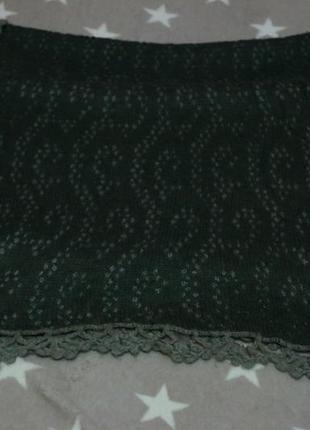 Теплый зимний шарф zara
