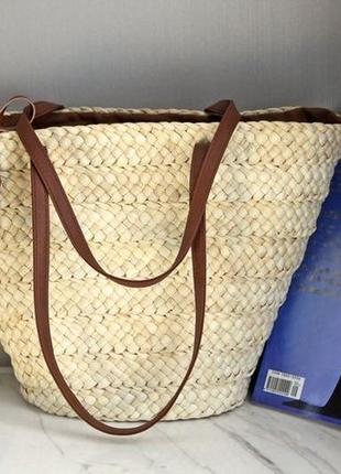 Уценка соломенная сумка