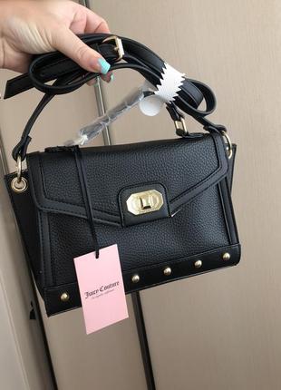 Новая сумка брендовая cross body оригинал juicy couture через плечо с бирками