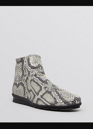 Arche кожаные стильные ботинки французского дизайнерского бренда