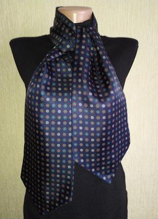 Шейный платок, шарф, италия, шелк