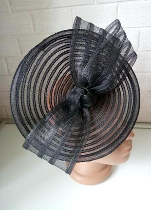 Обруч шляпка