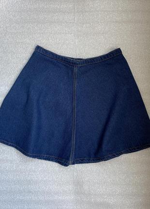 Юбка джинсовая солнцеклёш