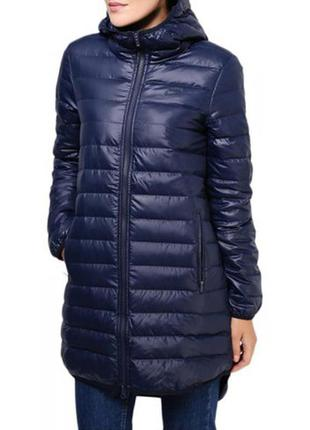 Пальто-пуховик (куртка) женский nike streetwear down fill hooded parka