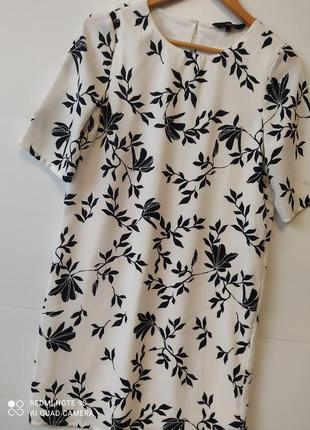 Крутое летнее платье с принтом р. s/xs