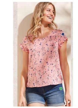 Свободная легкая блуза германия