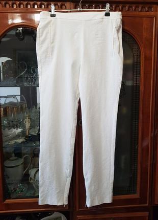Лосины брюки скинни гобелен объемный рисунок