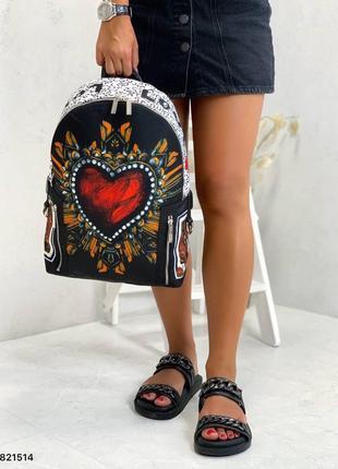 Рюкзак в стиле дольче габанна dolche gabbana