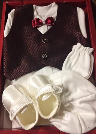 Подарочный набор для крещения