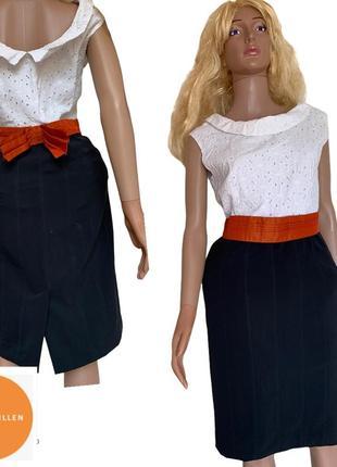 Стильное деловое платье с юбкой карандаш karen millen