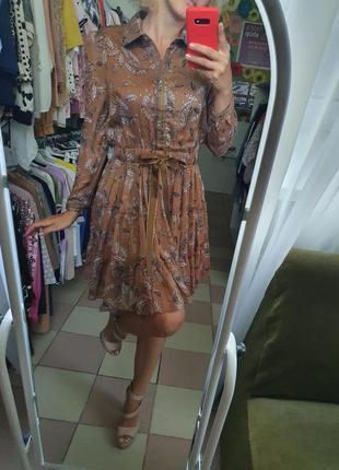 Красивое шифоновое платье 👗