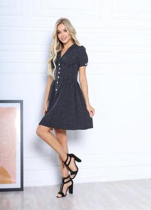 Платье летнее женское короткое мини нарядное легкое свободное розовое5 фото