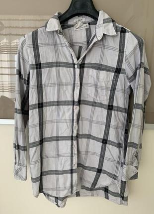 Рубашка в клетку коттон