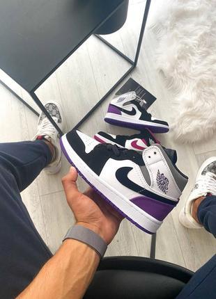 Nike air jordan, высокие кроссовки найк джордан женские, весна-осень