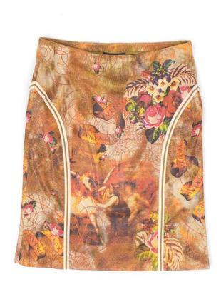 Юбка женская marccain с принтом цветная в цветах размер 5