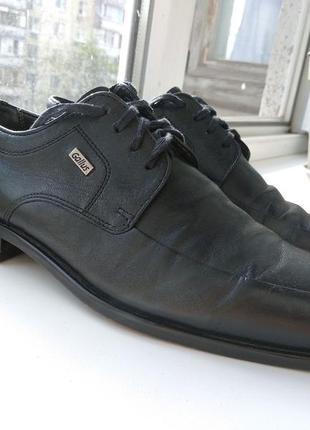 Брендові туфлі чоловічі мешти gallus extravelt 41 [німеччина] 27 см (мужские кожаные)