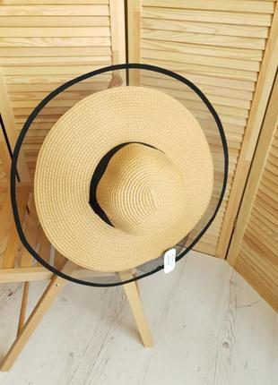 Шикарная коричневая шляпа braxton