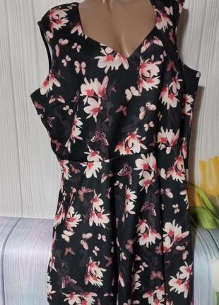 Шикарное платье размер 60