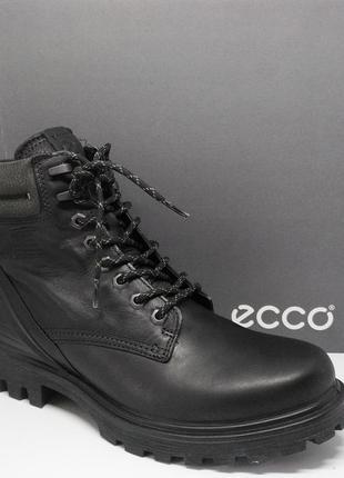 Стильные кожаные ботинки милитари берцы ecco tradetray оригинал