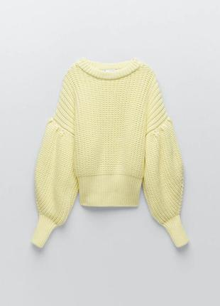 Очень тёплый и стильный свитер, кофта, джемпер zara