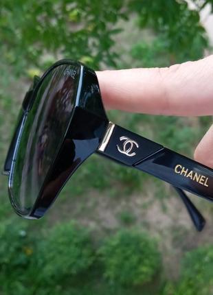 Стильные женские очки италия минимализм в чёрной оправе итальянские очки5 фото