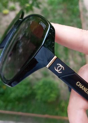 Стильные женские очки италия минимализм в чёрной оправе итальянские очки2 фото