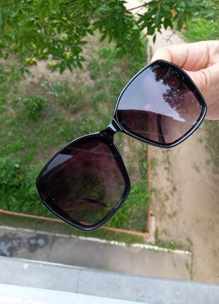Стильные женские очки италия минимализм в чёрной оправе итальянские очки7 фото