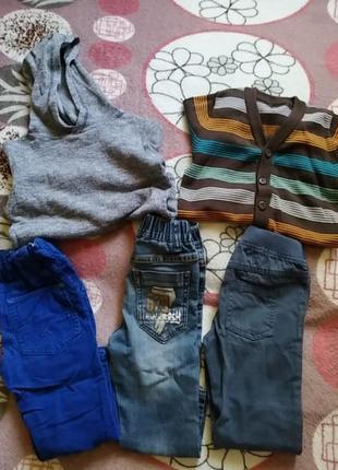 Штанишки, брюки, джинсына мальчика 86-98см