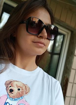 Стильные итальянские очки в роговой оправе минимализм стиль эксклюзив5 фото