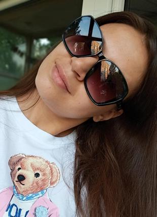 Стильные итальянские очки в роговой оправе минимализм стиль эксклюзив