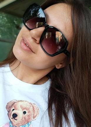 Стильные итальянские очки в роговой оправе минимализм стиль эксклюзив4 фото