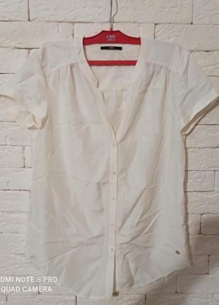 Оригінальна шовкова блуза boss