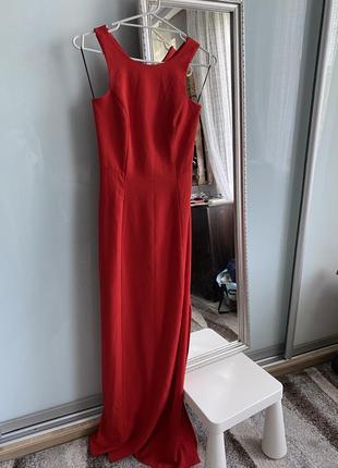 Вечернее платье massimo dutti