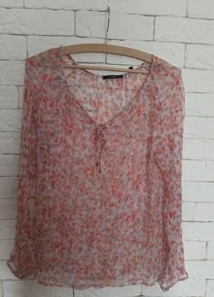 Шовкова блуза zero