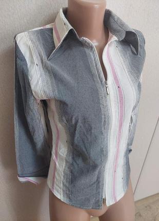 Рубашка женская на молнии 40-42 размера