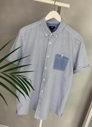 Рубашка джинсовая хлопок