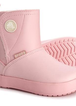 Детские зимние сапоги crocs colorlite ps boots, 100% оригинал