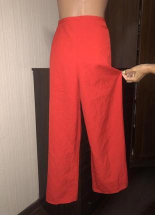 Морковные брюки палаццо kenzo