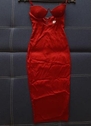 Сексуальное атласное платье oh polly